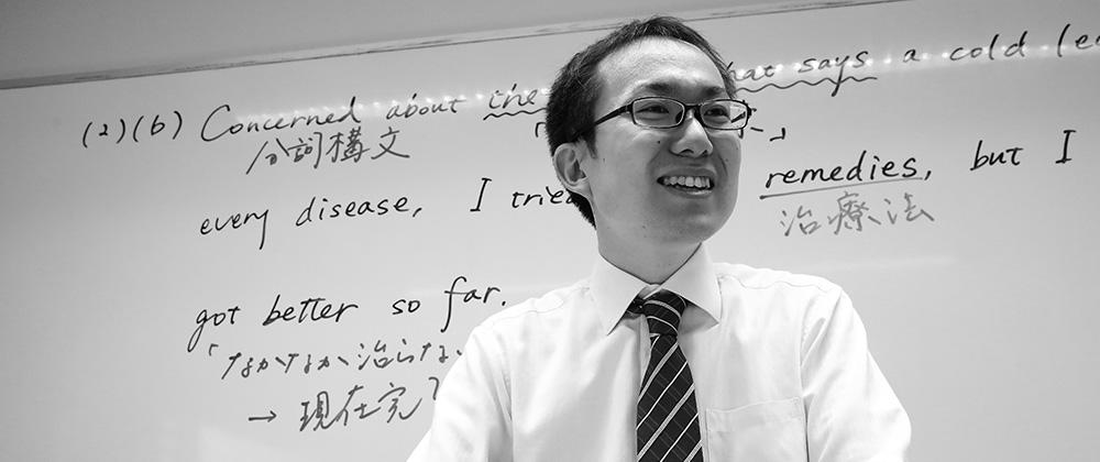 英語科・石川先生